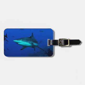 Reef Shark Luggage Tag