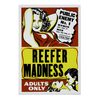 """""""Reefer Madness"""" Poster"""