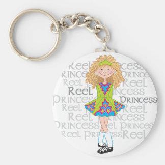 Reel Blonde Key Ring