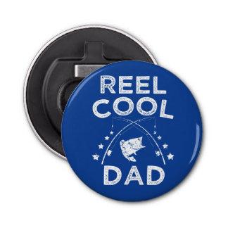Reel Cool Dad funny fish magnet beer bottle opener