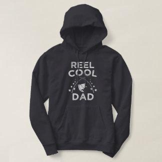 Reel Cool Dad funny Fisherman Mens Hoodie