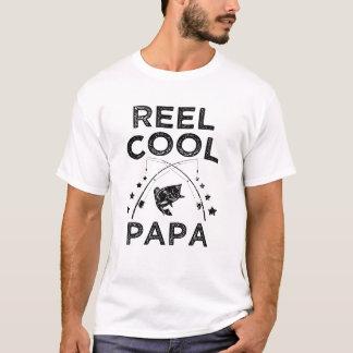 Reel Cool Papa funny Fisherman Mens Shirt