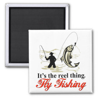 Reel Fly Fishing Magnet