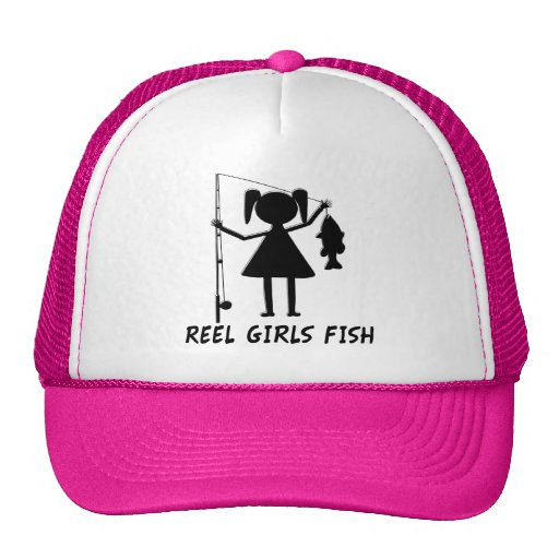 REEL GIRLS FISH MESH HATS