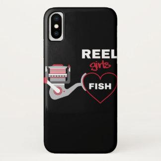 Reel Girls Fish iPhone X Case
