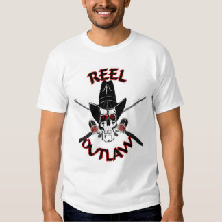 reel outlaw t-shirts