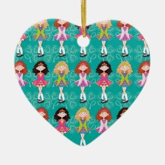 Reel Princesses Ceramic Ornament