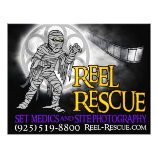Reel Rescue Flyers/Advertising 21.5 Cm X 28 Cm Flyer