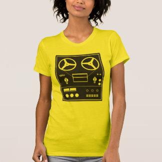 reel tape recorder tshirts
