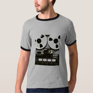 Reel to Real Tape Player T-shirts