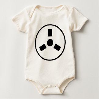Reel to Reel Spindle Baby Bodysuit