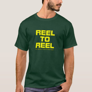 Reel To Reel Yellow Color T-Shirt