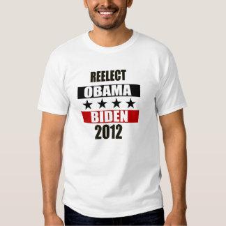 Reelect Obama Biden 2012 Tshirt