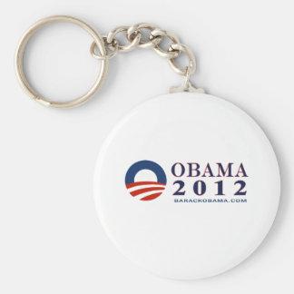 Reelect President Obama 2012 Basic Round Button Key Ring