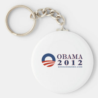 Reelect President Obama 2012 Basic Round Button Key Ring