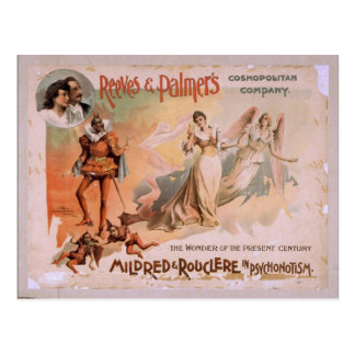 Reeves & Palmer's, 'Mildred & Rouchere' Retro Thea Postcard