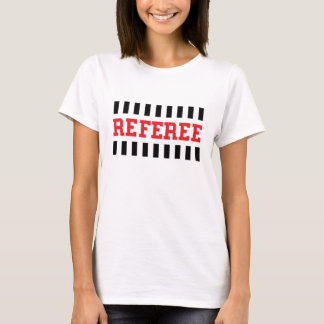 Referee black and red design T-Shirt