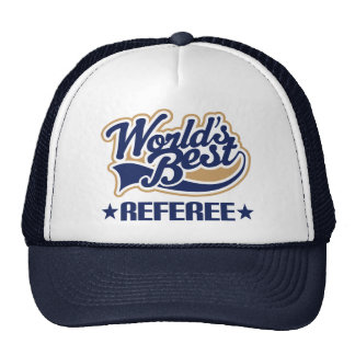 Referee Gift Mesh Hat