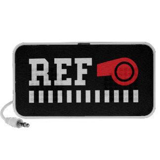 Referee portable iPhone iPad laptop speakers