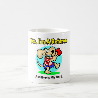 Referee Red Card Drinkware Coffee Mug