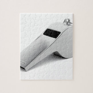 Referee whistle jigsaw puzzle