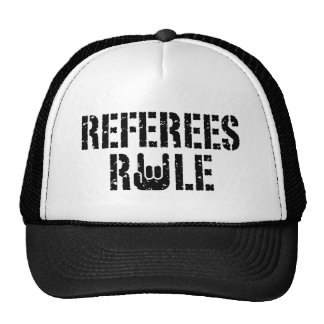 Referees Rule Cap