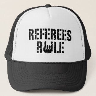 Referees Rule Trucker Hat