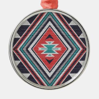 Refined Southwest Metal Ornament
