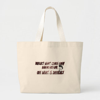 REFLECT WHAT COMES LARGE TOTE BAG