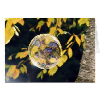 Reflected Autumn Leaves Card
