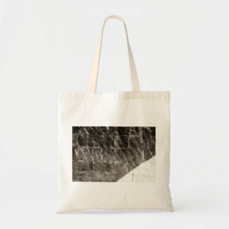 Reflected Ripples on Old Stone Budget Tote Bag
