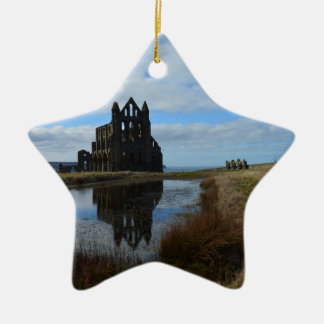 Reflecting History Ceramic Ornament