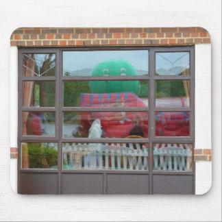 Reflection, a bouncy castle mouse pad