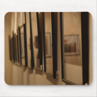 Reflection from a number of paintings mousepads