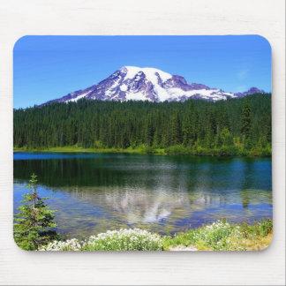 Reflection Lake, Mount Rainier, WA, USA Mouse Pad