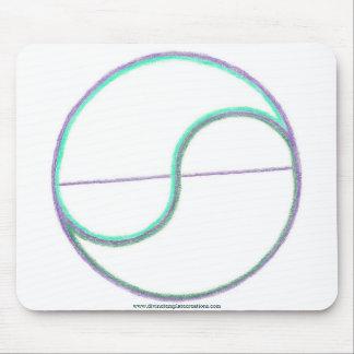 Reflection Mandala Mouse Pad