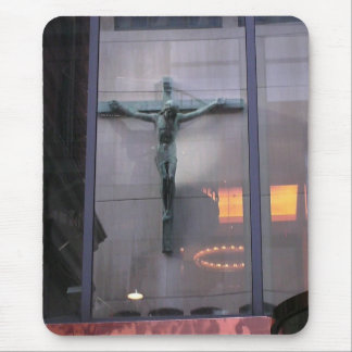 Reflection Of Christ Mouse Pad