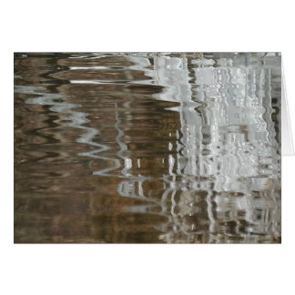 Reflection of Ice in Water Card