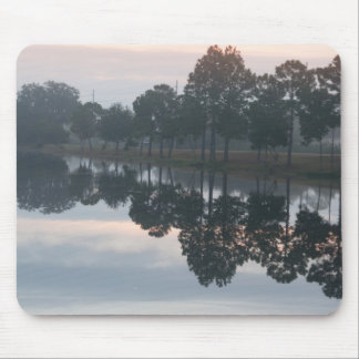 Reflection on lake mousepads