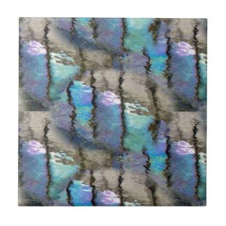 reflection on lake tile
