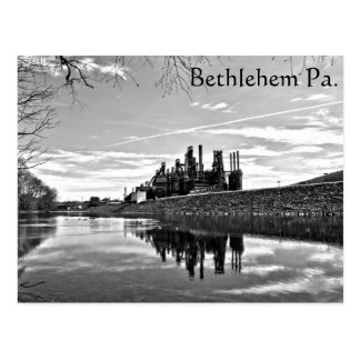 Reflection On The Lehigh postcard