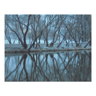 Reflection. The blurred Photo