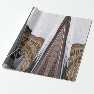 Reflection wrapping paper