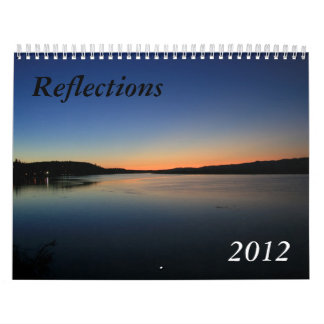 Reflections 2012 wall calendars