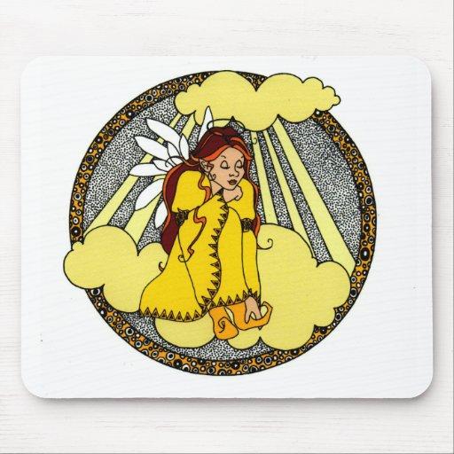 Reflections Angel Design Mousepad