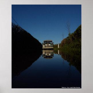 Reflections by Henry Joseph Siebert-Saunders Poster