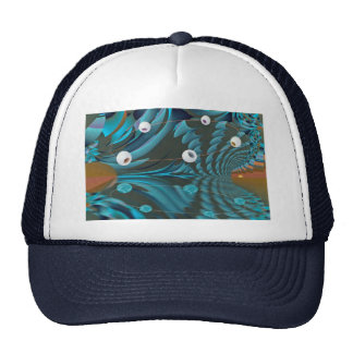 Reflections dimension mesh hat