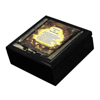 Reflections For Inner Strength Trinket Box
