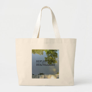 Reflections (in water) jumbo tote bag