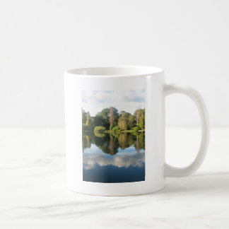 Reflections in water mugs